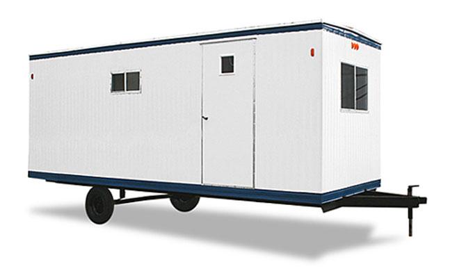 Mobile Trailers Custom Garage : Mobile office